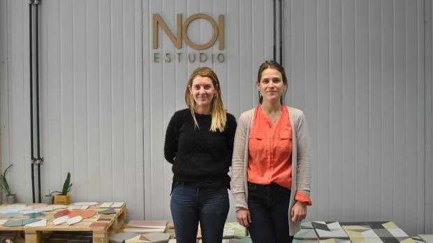 Milagros Vázquez y Constanza Capatto, ganadoras Incubate 2016, con su proyecto NOI Estudio