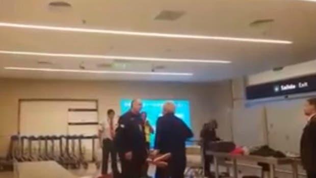 Un hombre insultó y amenazó a empleados de la AFIP en el aeropuerto de Mendoza