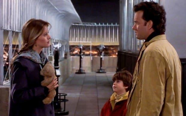 Meg Ryan y Tom Hanks en Sintonía de amor