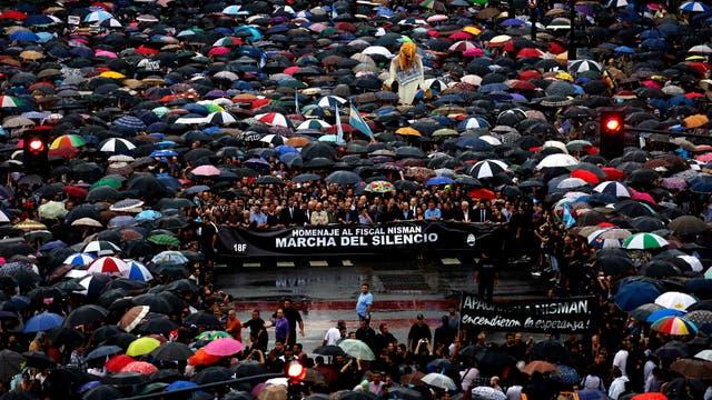 Marcha por Nisman, en enero de 2015