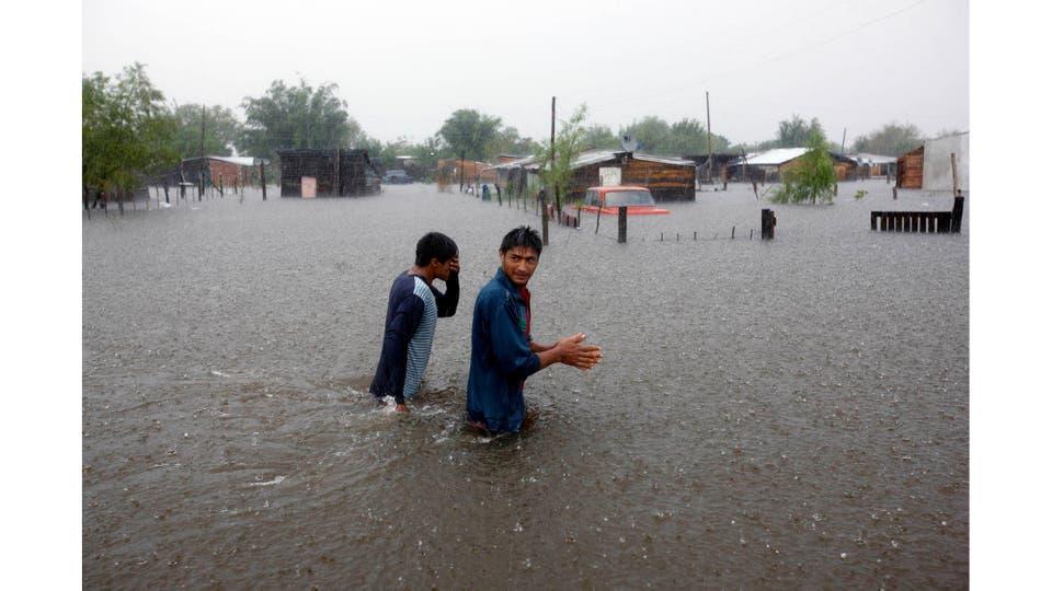 Inundaciones en la localidad Esquina. Corrientes, 6 de abril 2016. Foto: Vicente Rizzi