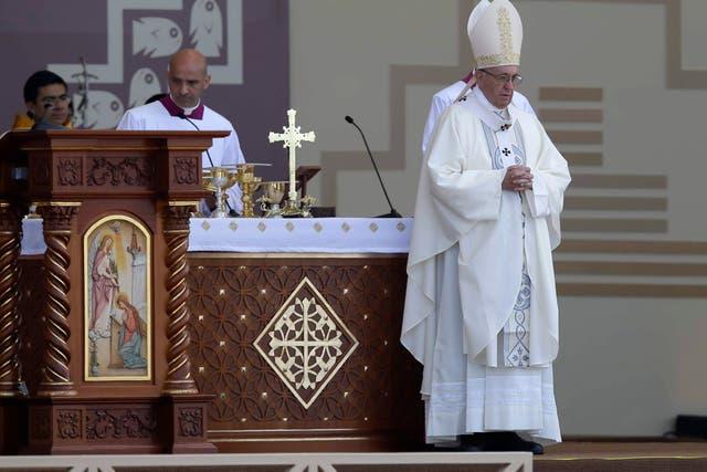 """""""Mi llegada a Chile estuvo precedida por diversas manifestaciones de protesta"""", admitió el Papa"""