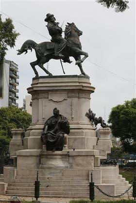 Garibaldi volverá a su color original