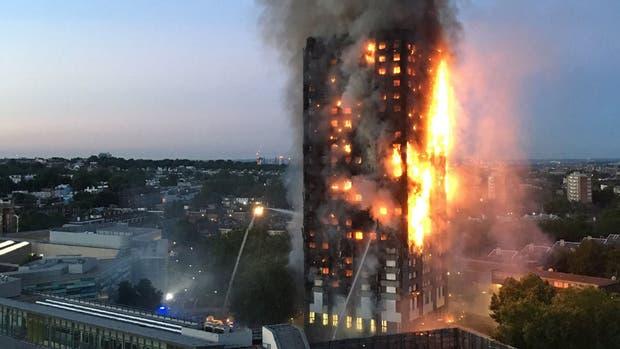 El incendio de Londres se originó en un freezer