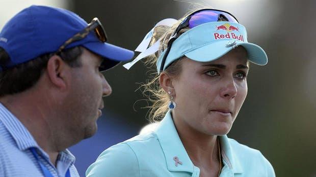 El llanto de Lexi Thompson cuando conoció la sanción durante el torneo