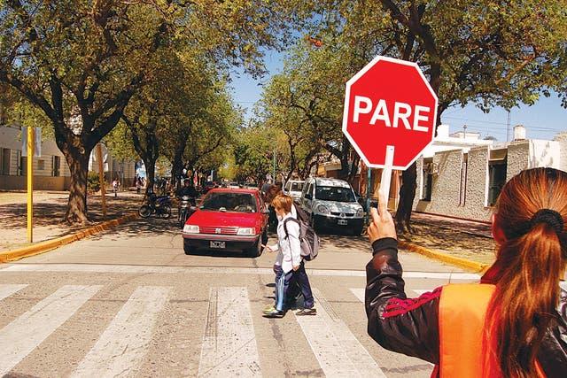 Un proyecto colectivo. Los vecinos colaboran con la seguridad y la limpieza de la ciudad