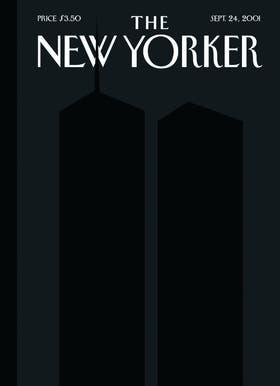 La tapa posterior al 11S, un homenaje a las Torres Gemelas