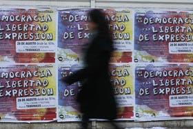 Los organizadores convocan a través de afiches en las calles y redes sociales