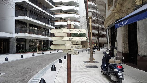 La curva de Arroyo, casi peatonal