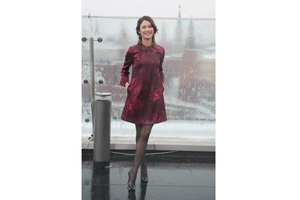 Olga Kurylenko optó por un diseño de Stella McCartney. ¿Qué te parece?. Foto: Fotos: Corbis
