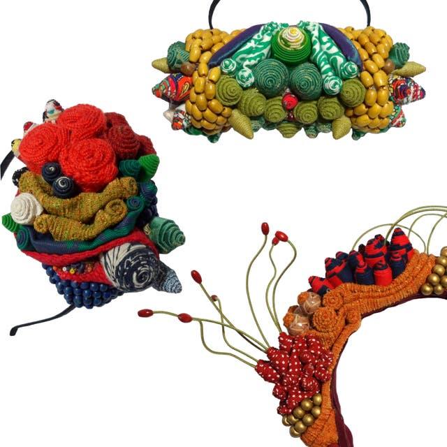 Selvática textil, un trabajo de bordado con descarte de producción