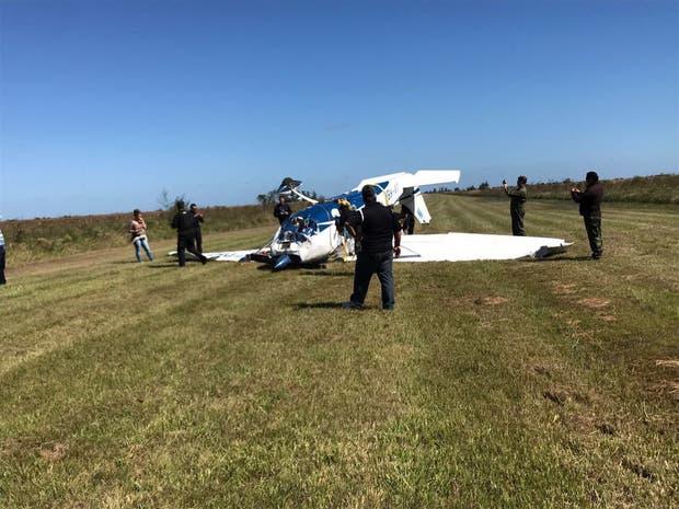 La avioneta robada en Entre Ríos y estrellada en los Esteros del Iberá