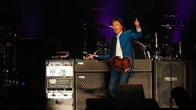 El ex Beatle continuará su gira el martes y jueves en La Plata