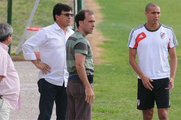 Passarella estuvo en la última práctica de Almeyda, en Ezeiza