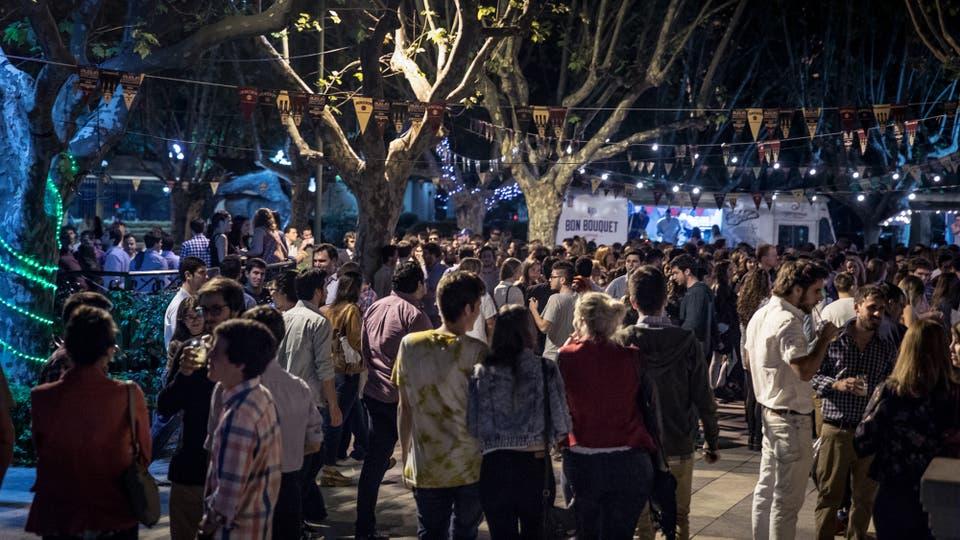 El festejo de San Patricio, el año pasado, en el Hipódromo de Palermo