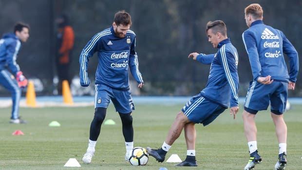 Así formarán Argentina y Brasil en Melbourne