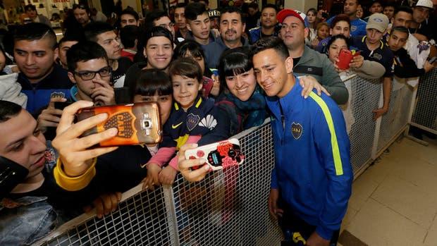 Cristian Espinoza listo para su primer superclásico