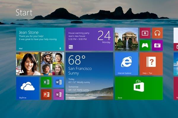 Así será la nueva pantalla de inicio de Windows 8.1