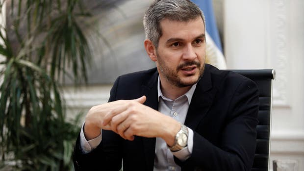 El jefe de Gabinete Marcos Peña negó que se quiera privatizar el Arsat