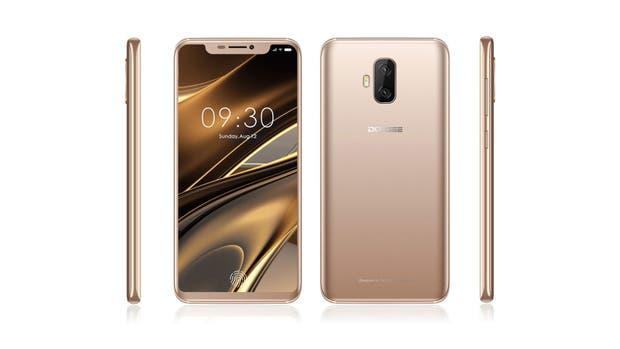 El smartphone Doogee V promete ser, junto al modelo de Vivo, uno de los primeros smartphones con el lector de huellas incorporado en la pantalla