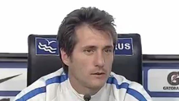 La mirada de Guillermo Barros Schelotto