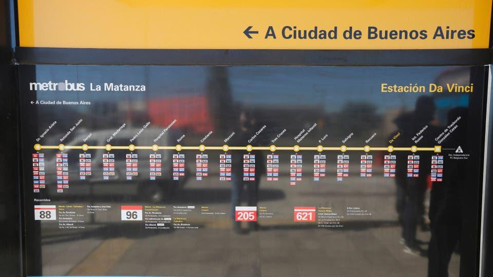 Se prevé que lo utilizarán 240.000 pasajeros por día. Foto: LA NACION / Ricardo Pristupluk