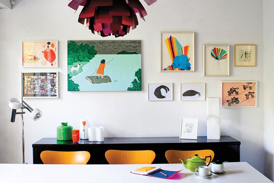 12 ideas para decorar con arte