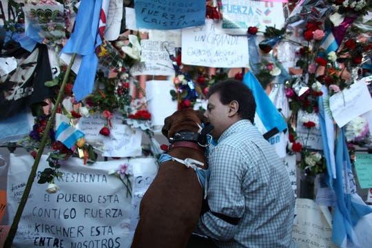 Miles de personas se concentraron muy temprano en Plaza de Mayo. Foto: LA NACION / Aníbal Greco