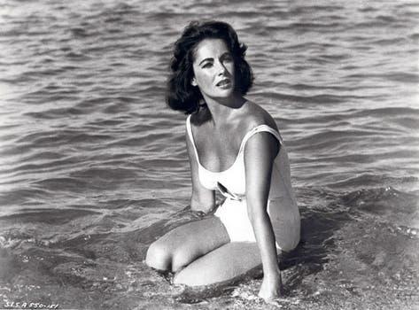 Elizabeth Taylor, en una escena de Suddenly last summer, en 1959..