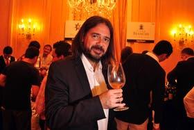Fabricio Portelli, director de la exposición Vinos de Lujo 12
