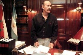 Jorge Yoma, en su etapa como diplomático argentino en la ciudad de México