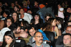 Florencia Kirchner estuvo en el festival de San Juan