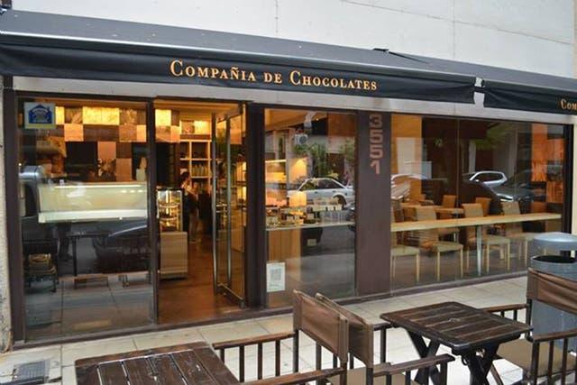 Boutique café de Compañia de Chocolates en Seguí 3551
