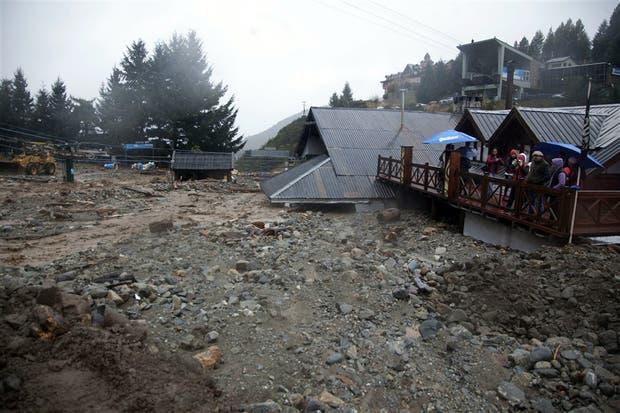 Una imagen de la devastación