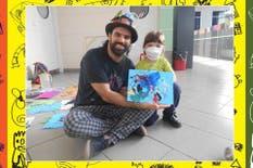 Dibujar en el hospital, un modo de motivar a los chicos