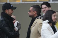 Marcelo Tinelli y su familia, de festejo en lo de Donato Di Santis