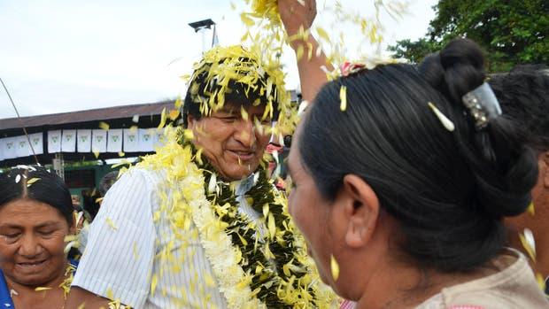 El presidente de Boloivia, Evo Morales