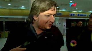 Máximo Kirchner viaja en el mismo avión que los Báez