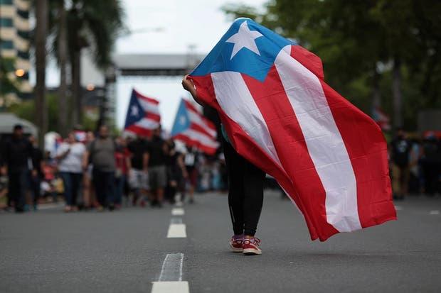 El 1 de mayo hubo protestas en Puerto Rico contra las medidas de austeridad