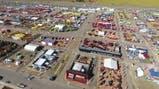 ExpoAgro 2018 desde el dron de Télam