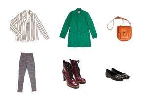 Catálogo de compras: prendas para ir a la oficina