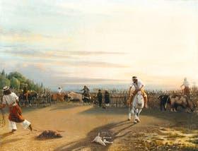Apartando en el corral, de Prilidiano Pueyrredón