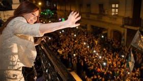 La ex presidenta de la Nación, Cristina Kirchner