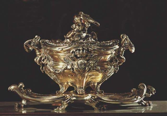 Sopera de plata, François-Thomas Germain, siglo XVIII