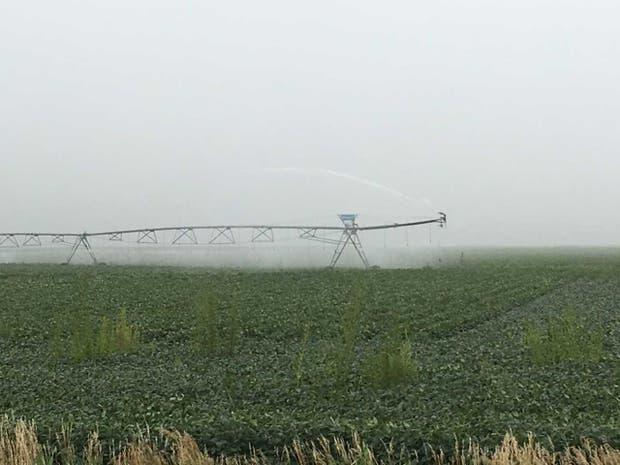 Pivote de riego en Nebraska