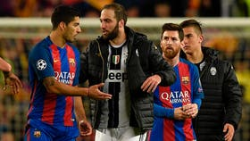 Suárez, Higuaín, Messi y Dybala, un póquer de ases rioplatense