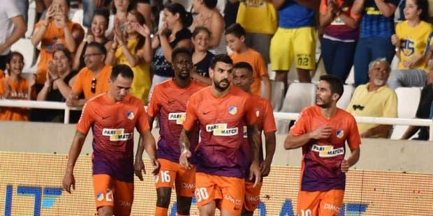 Bertoglio hizo el gol del triunfo del APOEL