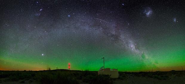 Los rayos llegan desde fuera de la Vía Láctea