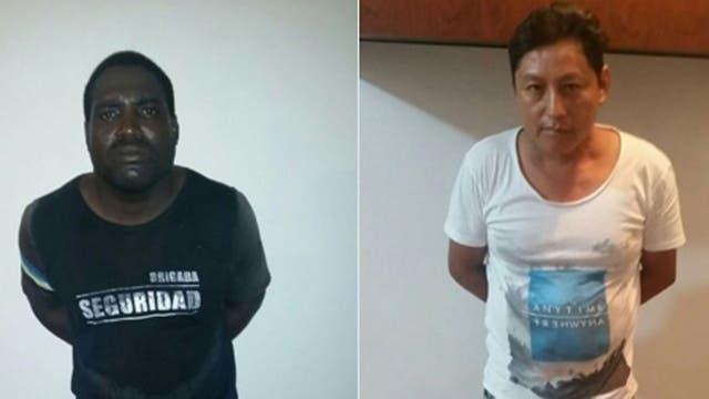 Los acusados por el doble crimen