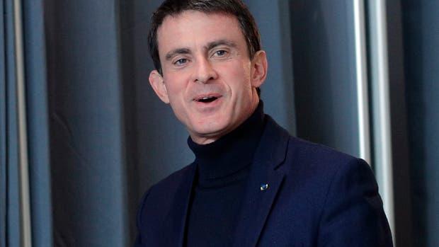 El ex premier socialista francés, Manuel Valls